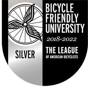 Silver Bike Friendly University 2018 - 2022