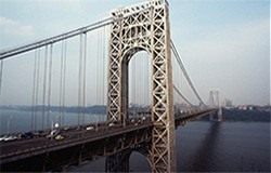 A photo of the George Washington Bridge