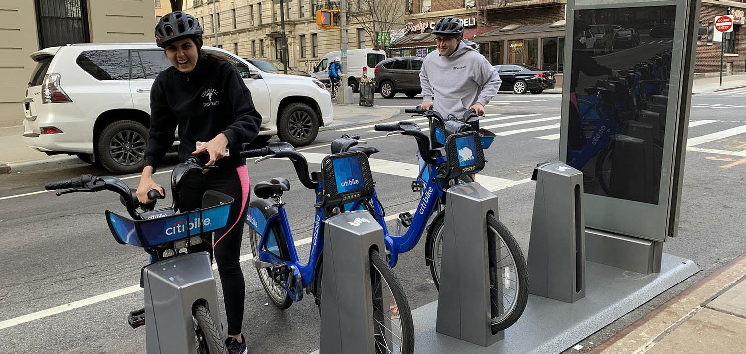 Citi Bike location at CUIMC campus
