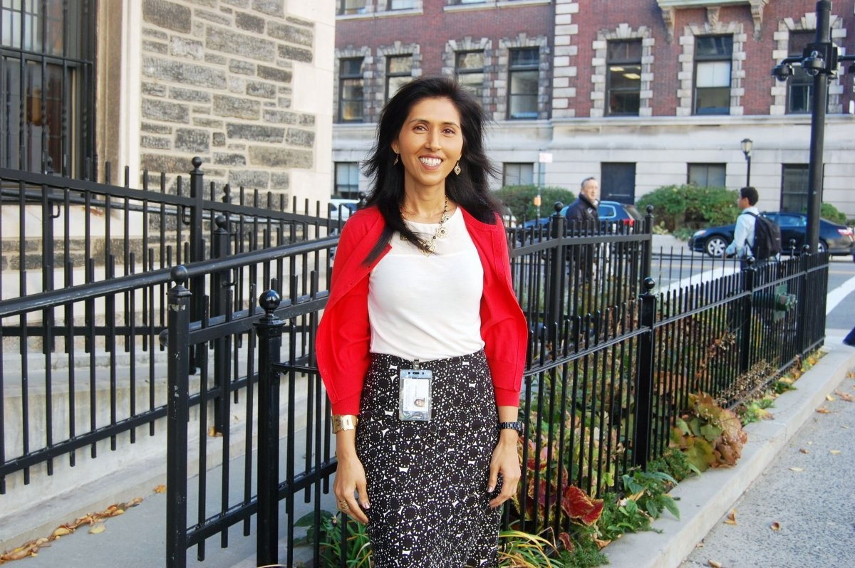 Sharan Kaur (Columbia Technology Ventures) commutes via Metro-North train and Intercampus Shuttle from Scarsdale, NY to the Morningside campus.